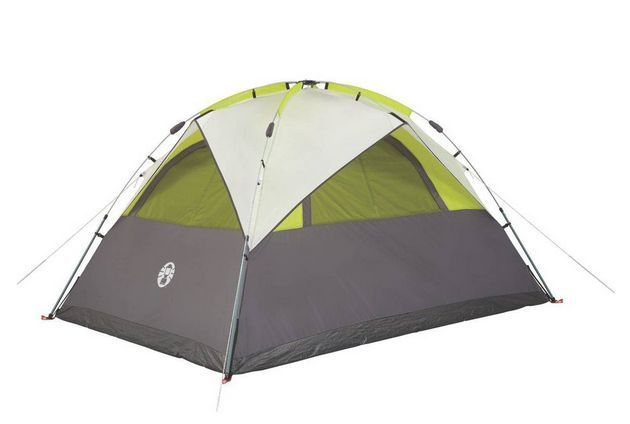 Coleman 5-person Instant Dome Camping Tent, Outdoor / Hiking Shelter for Family #Coleman #Dome