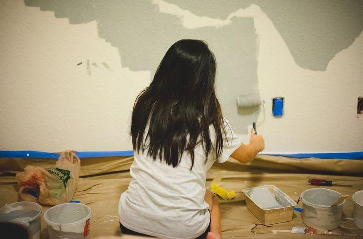 Adventures of EJJE: Project Nursery: The Mural (Part II)