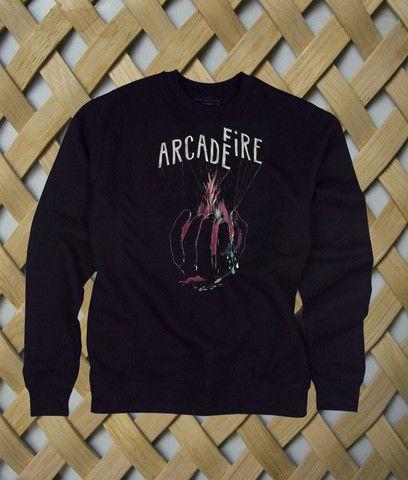 Arcade Fire Hand Logo sweatshirt  #sweatshirt #shirt #sweater #womenclothing #menclothing #unisexclothing #clothing #tops