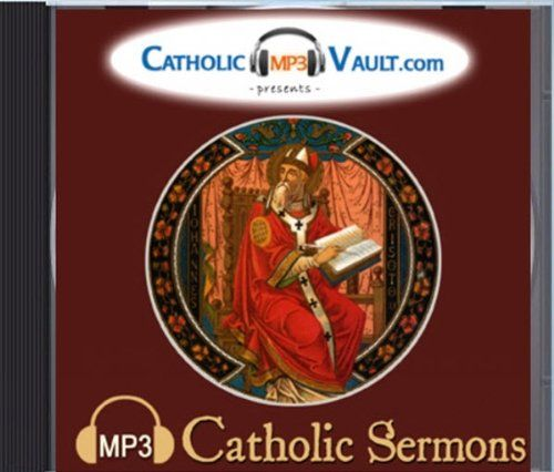 An audio collection of sermons by many Fathers of the Catholic Church preaching on the Gospel readings of the entire Liturgical Year as well as other important topics. St. John Chrysostom St. Augustine St. Ephrem St. Leo the Great St. Gregory the Great and many more. All speakers and content are faithful to the teachings of the Catholic Church. This is a data DVD only which stores the MP3s of this audio library. It will not play in a DVD player. Transfer the files to your computer iPod or…