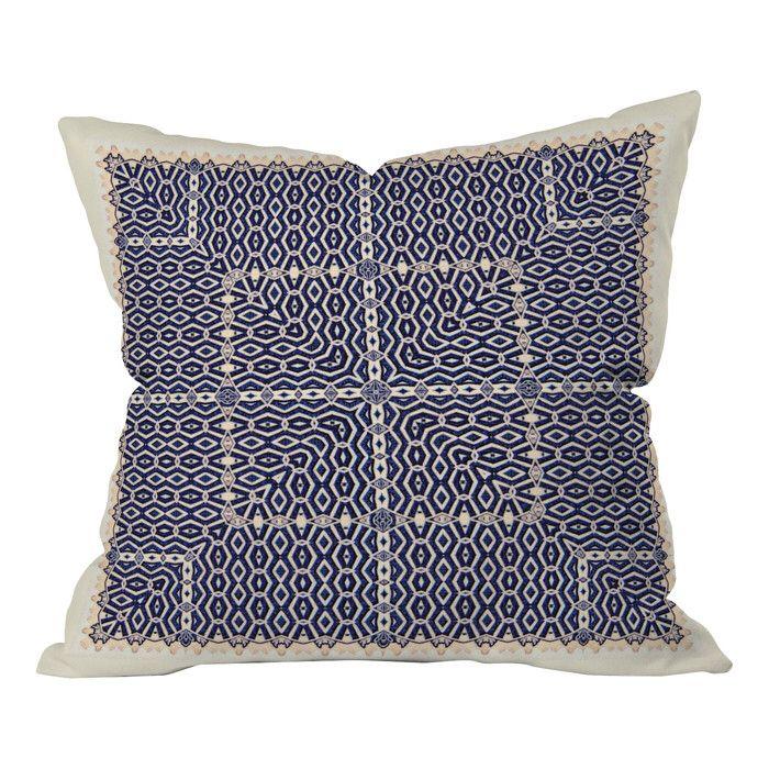 Greece Indoor/Outdoor Throw Pillow