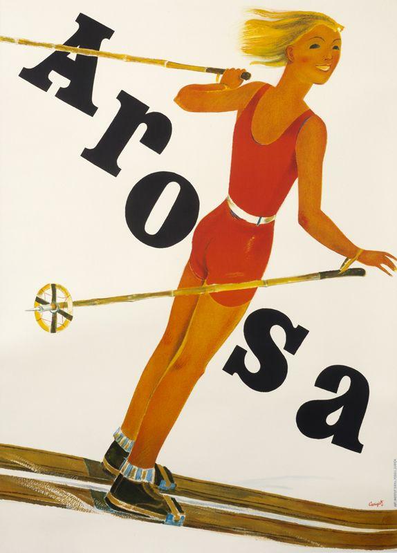 Arosa by Carigiet, Alois   Shop original vintage posters online: www.internationalposter.com
