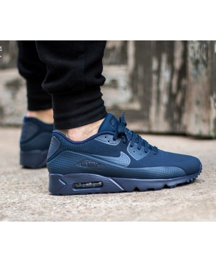 Nike Air Max 90 Ultra Moire Trainers In Blue | Nike