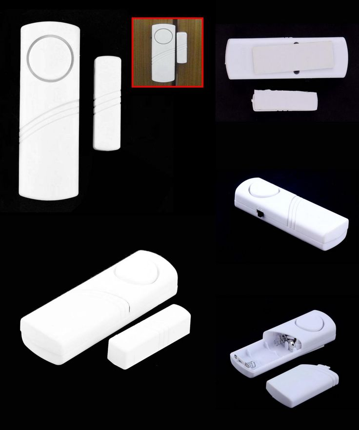 [Visit to Buy] Door Window Wireless Burglar Alarm with Magnetic Sensor Home Safety Wireless Longer System Security Device White Wholesale #Advertisement