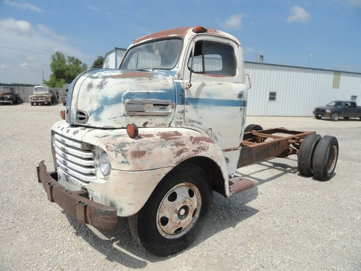 Kansas Kool: 1949 Ford F-6 COE - http://barnfinds.com/1949-ford-f-6-coe/