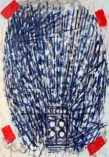 David Urban, Amplifier #1 - HIWATT, 2009, oil on canvas, 67 x 48 in.