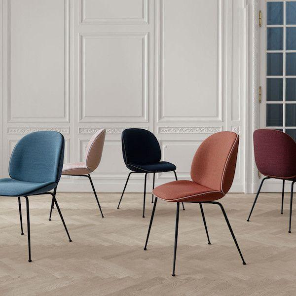 #LGLimitlessDesign #Contest   Beetle dinning chairs by GamFratesi for Gubi