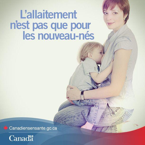 L'allaitement n'est pas que pour les nouveau-nés #citation #allaitement