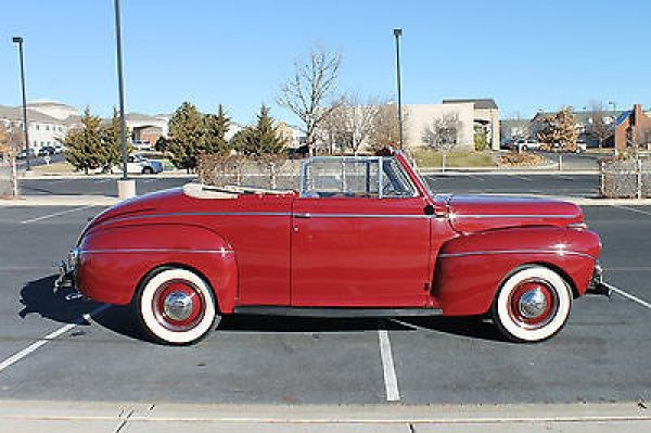 1941 Ford Super Deluxe Convertible Maintenance/restoration of old/vintage vehicles: the material for new cogs/casters/gears/pads could be cast polyamide which I (Cast polyamide) can produce. My contact: tatjana.alic@windowslive.com