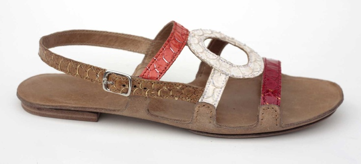 #sandals made of fish leather (tilapia) | Design by Meher Kakalia