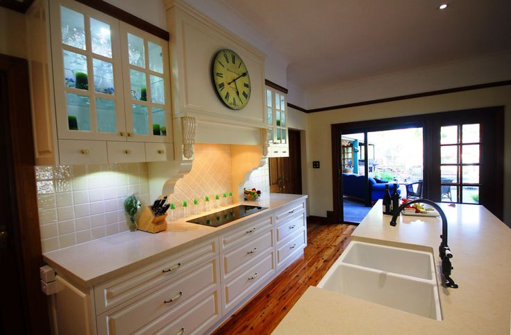 Traditional, colonial kitchen design Brisbane