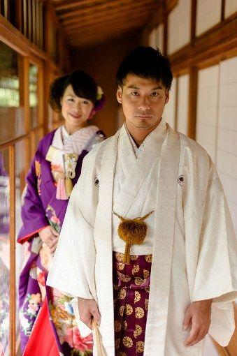男らしく凛々しい新郎♪結婚式に着たい新郎の袴姿。ウェディング・ブライダルの参考に。