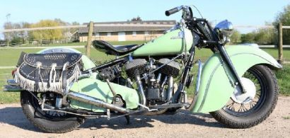 Indian Big Chief With Electro Start for Sale on Classic & Race Bike