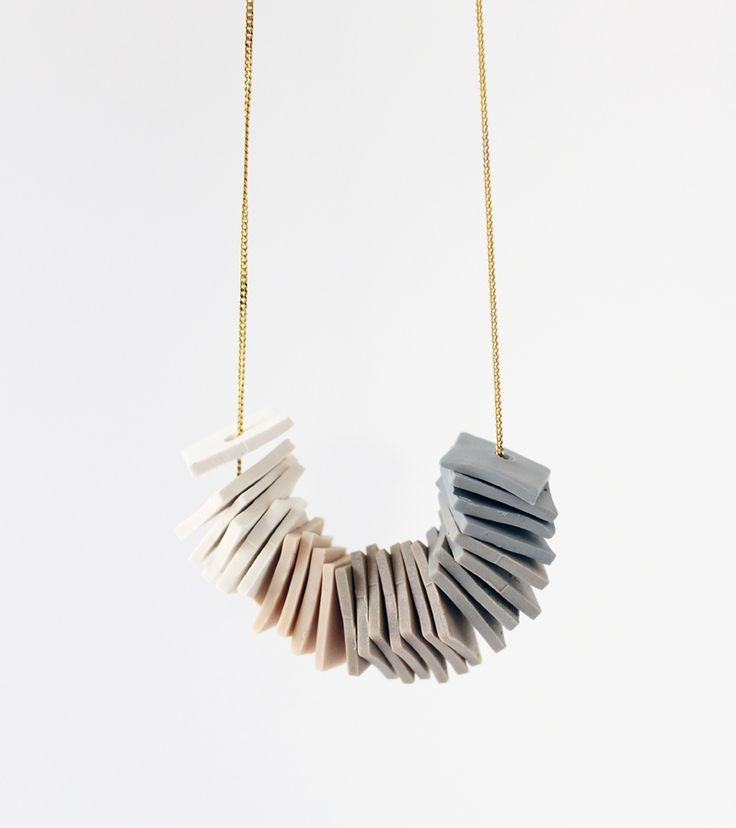 one-of-a-kind gradient necklace   AMM Jewelry