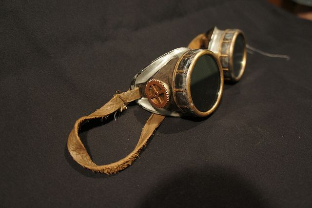 Make Your Own Steampunk Goggles (Part 1) | GeekMom | Wired.com
