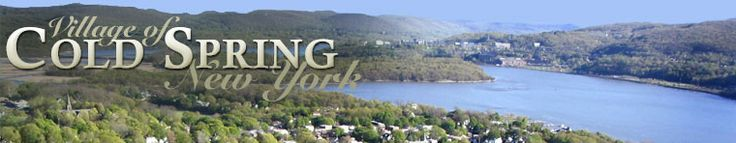 Welcome to the official website for the village of Cold Spring, New York
