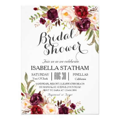 #country - #Rustic Flora l Rustic Bridal Shower Card