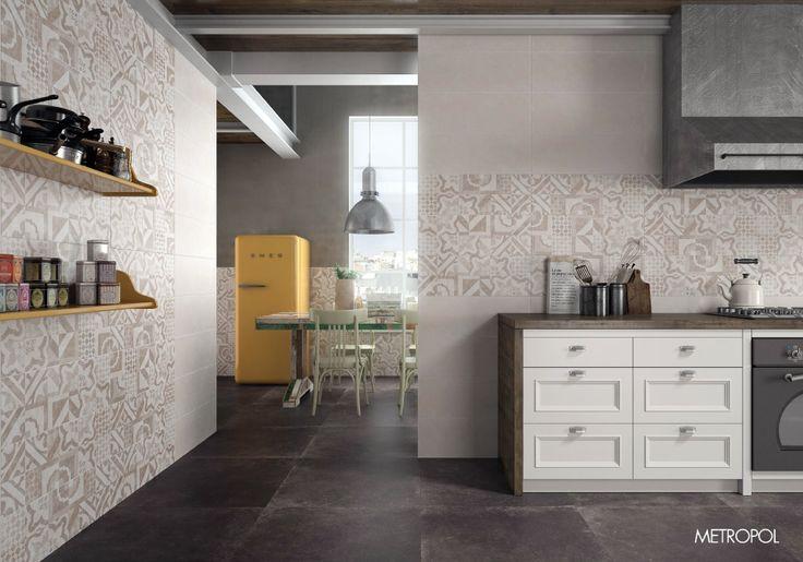 #Cocina #diseño #amplia #cocinadediseño #cocinaperfecta Colección Loussiana de #METROPOL