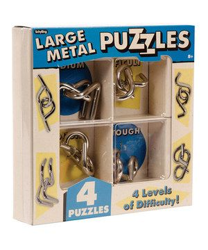 Another great find on #zulily! Metal Puzzle Set by Schylling #zulilyfinds