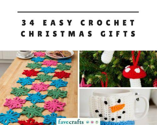 34 Easy Crochet Christmas Gifts | Christmas Crochet Patterns | Pinterest | Crochet  christmas gifts, Crochet and Christmas crochet patterns - 34 Easy Crochet Christmas Gifts Christmas Crochet Patterns