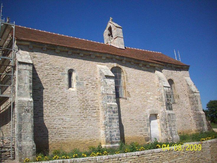 Fain lès Moutiers, chapelle st Georges de St Just