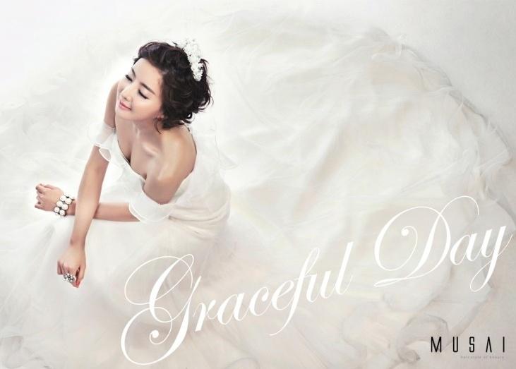 아름다운 신부와 웨딩드레스...♥  뮤사이 웨딩 화보  Click the photo :D