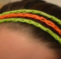 Rainbow Loom Head Band Pattern... Website is full of patterns for Rainbow loom!