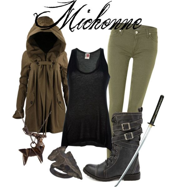 MICHONNE | Walking Dead inspiration by Iyssxp