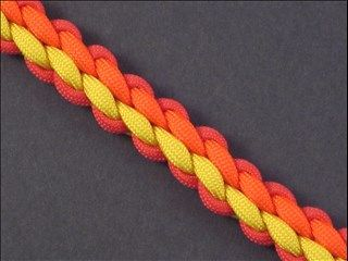 Click here to learn how to tie the 6-Strand Wide Round Braid