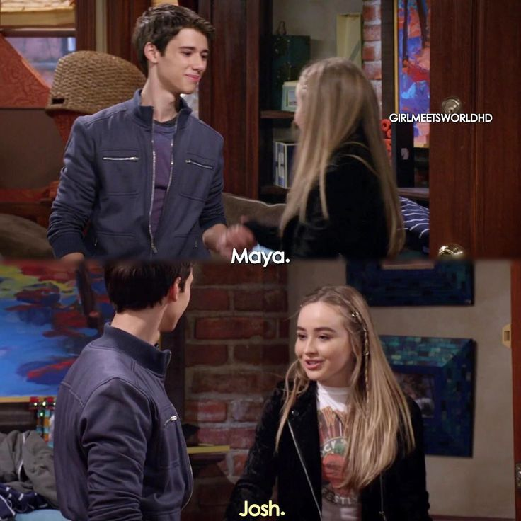 girl meets world spoilers maya and josh Girl meets world is an american comedy television series created by michael the series follows their daughter, riley matthews, and her best friend, maya.