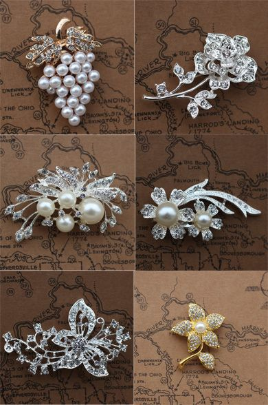 Find More Brooches Information about Chinese cheap brooches mixed,6 designs mixed .wedding pearl brooches free shipping brooch beautiful,High Quality Brooches from Gem-Mart Store on Aliexpress.com