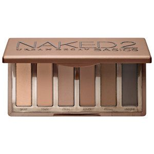 Urban Decay - Naked2 Basics. A versatile, matte eye shadow palette with six shades in taupe-hued neutrals.