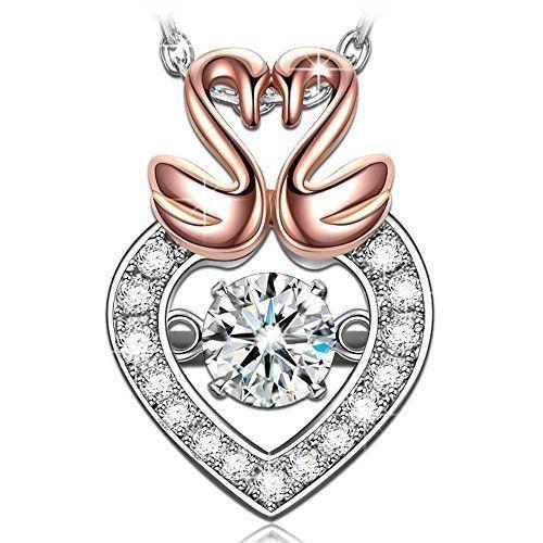 Gift Necklace Pendant for Mom Women Girls Anniversary Birthday Love Heart NEW #ValentinesDayGiftNecklacePendant #Pendant
