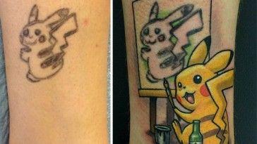 10 Tattoo fail salvati dalla creatività di tatuatori professionisti!