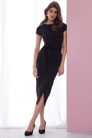1dee68bd Black Midi Dress Lipsy – Little Black Dress | Black Lace Bridesmaid ...