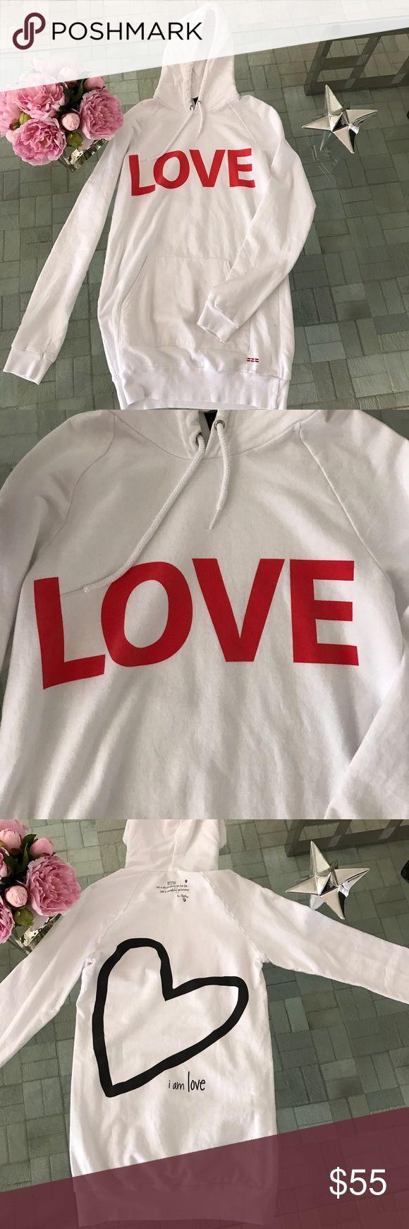 LAST PRICE DROP! Peace Love World shirt dress Peace Love World hooded shirt dress PEACE LOVE WORLD Dresses