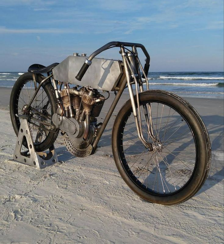 Sons Of Speed Antique Motorcycle Boardtrack-Style Racing #Daytona #BikeWeek #HarleyDavidson #Hellbender