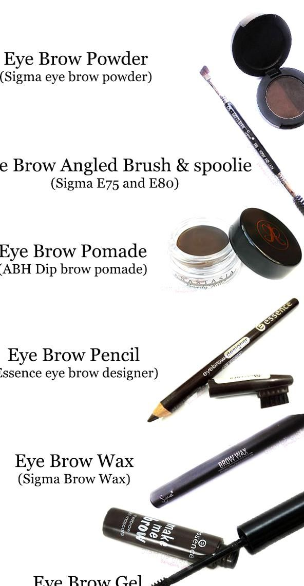 Best Eye Brow Products For Different Type Of Brows In 2020 Tinted Moisturizer Paraben Free Products Spf 50