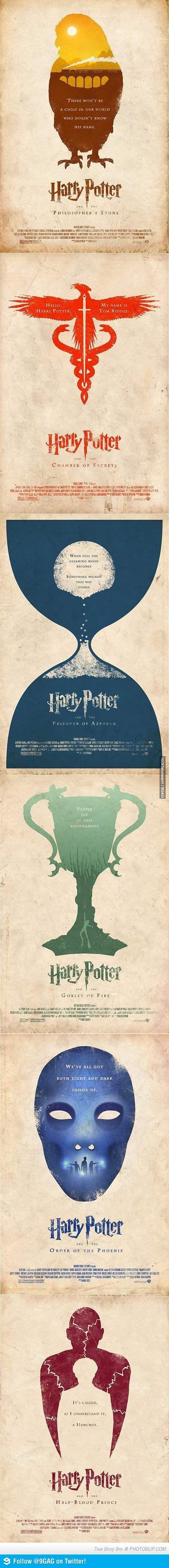 Alternate HP Posters 9gag