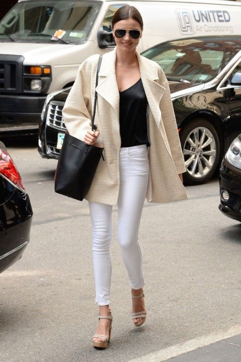 Need to buy ripped white jeans they have to be comfortable! w a black top and nude sandals