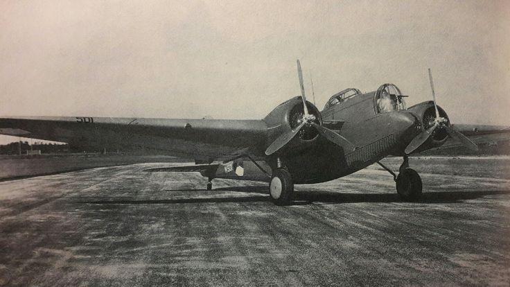 1 van de 118 glenn martin bommenwerpers in nederlandse dienst