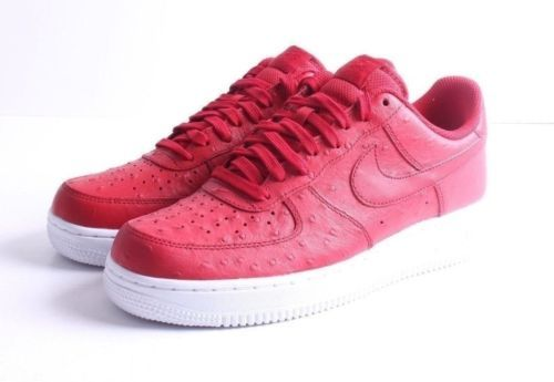 NEW NIKE AIR FORCE 1 '07 LV8 GYM RED WHITE MENS SNEAKERS [718152-603] SZ 9 Clothing, Shoes & Accessories:Men's Shoes:Athletic