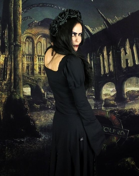 Gofficeia Top by Moonmaiden Gothic Clothing UK