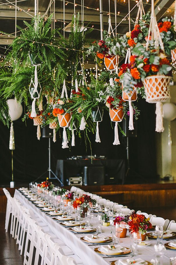 View And Save Ideas About Hanging Macrame Planters Wedding Decor