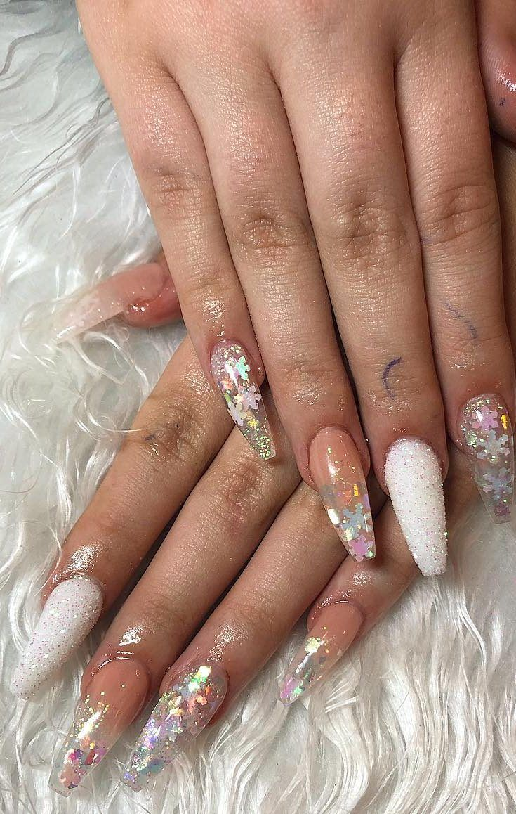 AMAZING CHRISTMAS NAILS DESIGNS For New Year PArty for