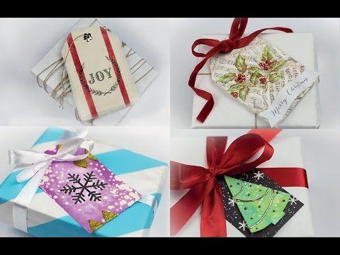 Karácsonyi ajándék kísérők // Christmas gift tags