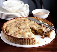 Irish apple tart. This recipe is based on the apple pie that chef Richard Corrigan's mother used to make every St Patrick's Day