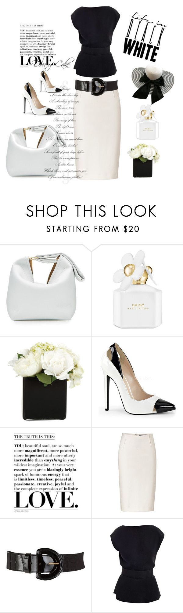 White apron john lewis -  Diva By Kercey Liked On Polyvore Featuring Victoria Beckham Marc Jacobs
