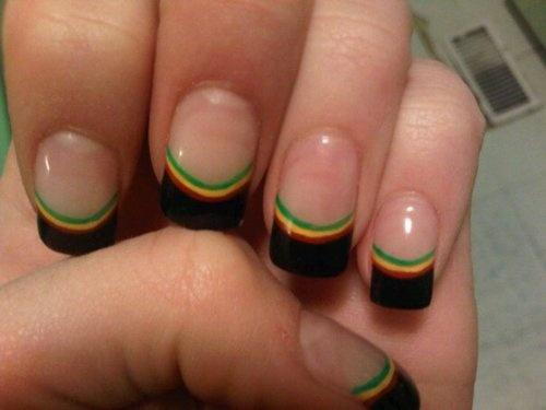 rasta nails | Tumblr