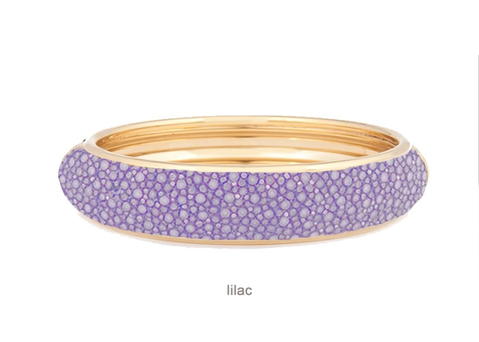 BANGLE In Stingray Lilac PURPLES